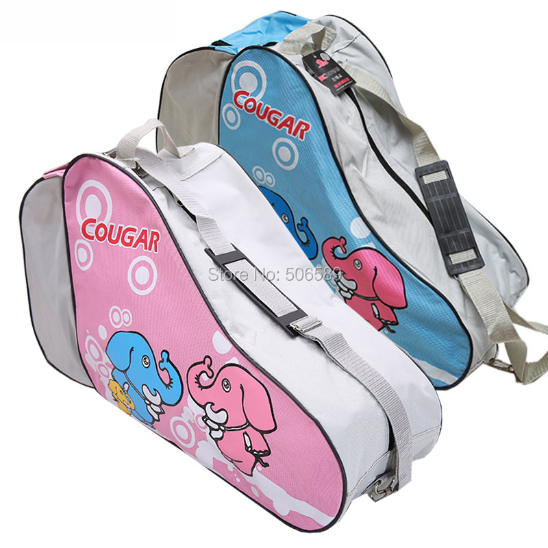 Free Shipping Skate Bag Blue Pink Red Color Nylon 600D