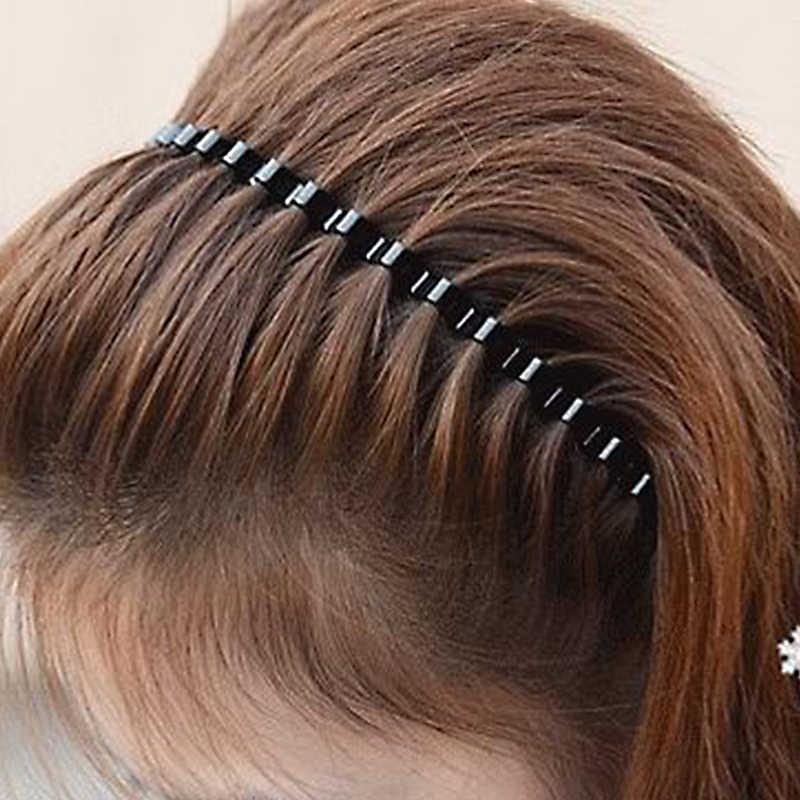 LNRRABC 1 PC mujeres calientes niñas niños coreano ondulado moda diadema accesorios para el cabello 9 colores al por mayor