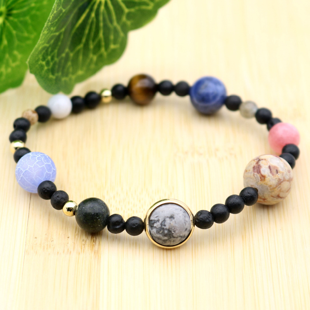 Universio™ Luxury Solar System Natural Stone Bracelet