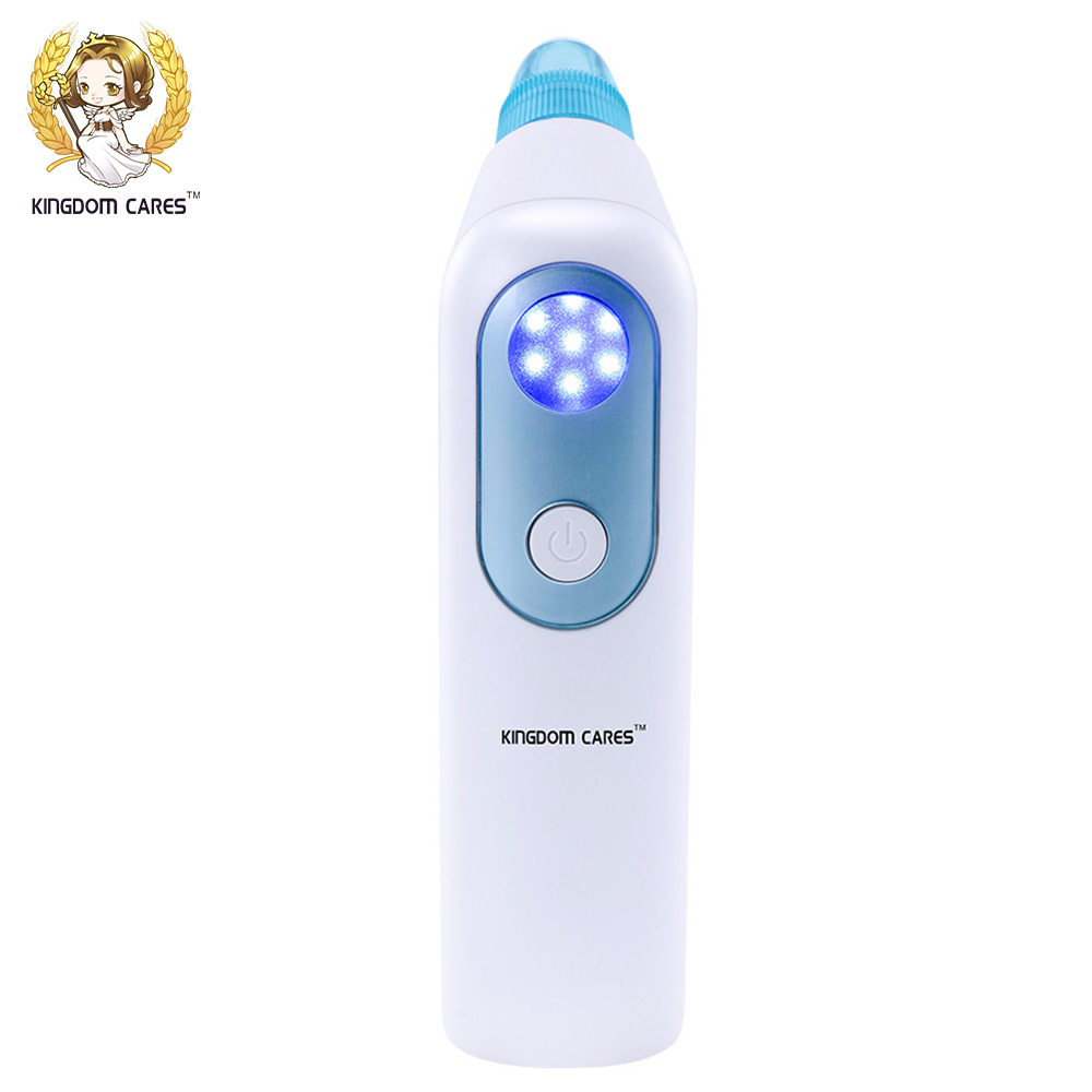 KINGDOM CARES Electric Vacuum Blackhead Remover Cleaner Pores Deep Cleansing Extractor Machine Soft Blu-ray SpotKD-802 deep face cleansing brush facial cleanser 2 speeds electric face wash machine