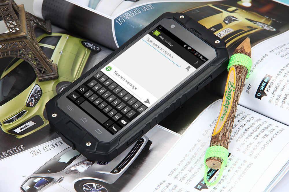 Guophone V9 IP68 Водонепроницаемый Смартфон Android 4,4 MTK6572 Dual Core 4,5 дюйма Экран 4000 mAh 3g gps пыле мобильный телефон