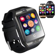Sim tf-einbauschlitz smart watch kamera smartwatch intelligente uhr q18s reloj inteligente armbanduhr für ios huawei samsung xiaomi