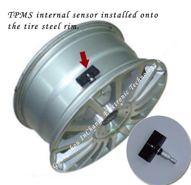 Internal Sensor For Spare Tire Wireless Amp Universal Tpms