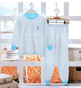 2016 Child cartoon pajamas Boy Girl Dora Pajamas Set Kids blouses and trousers 2-Piece Sleepwear Cotton clothing set age 2y-11y