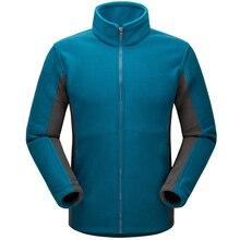 Осень пальто 2016 мужчины куртка сгущает тепловая согреться ветровка ватки innner пальто windstopper одежда для лыжников
