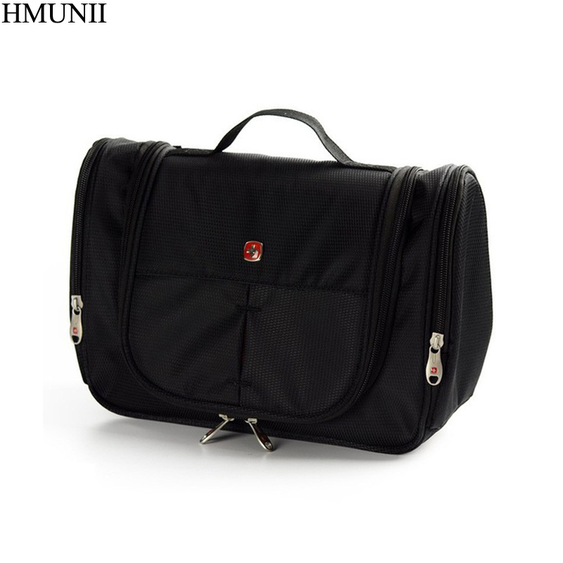 цены HMUNII Men Women Travel Wash Toiletry Cosmetics Bag MakeUp Organizer Shaving Kit Large Capacity Multifunction Storage Bag B1-02