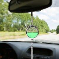 Ar do carro perfume difusor de óleo essencial vista traseira pendurado garrafa auto espelho retrovisor pingente ornamento do carro ambientador mais limpo
