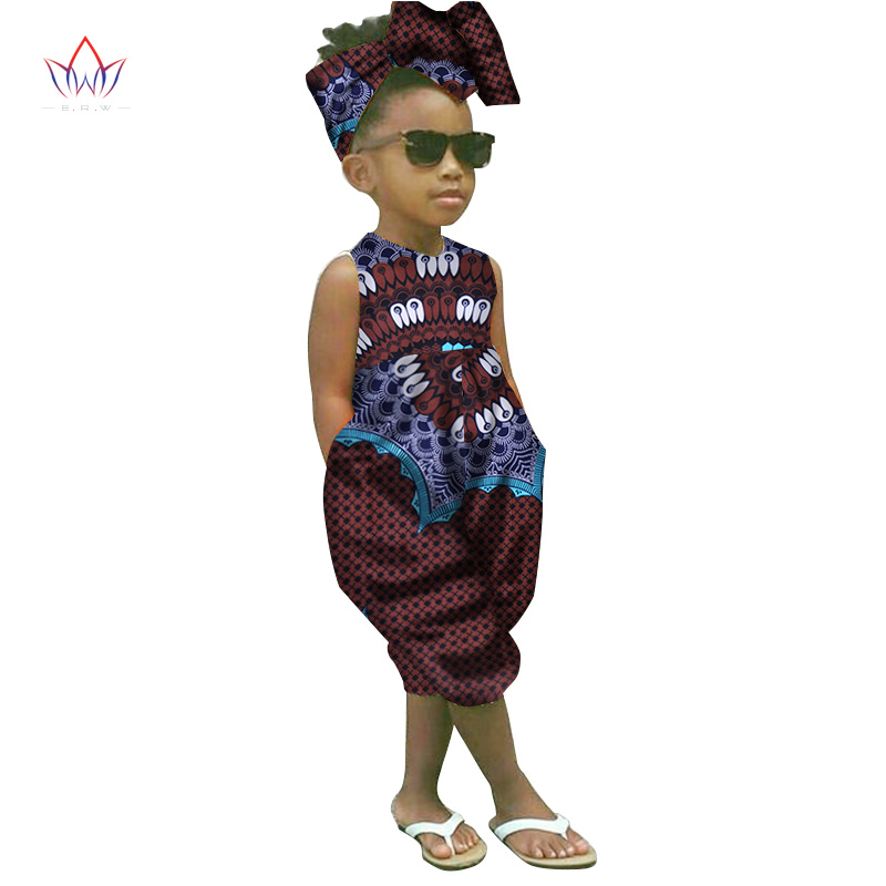 6649265e74acb US $29.41 6% OFF|2019 african clothing for children dashiki Traditional  cotton set Matching Africa Print t Children Summer a set BRW WYT26-in  Africa ...