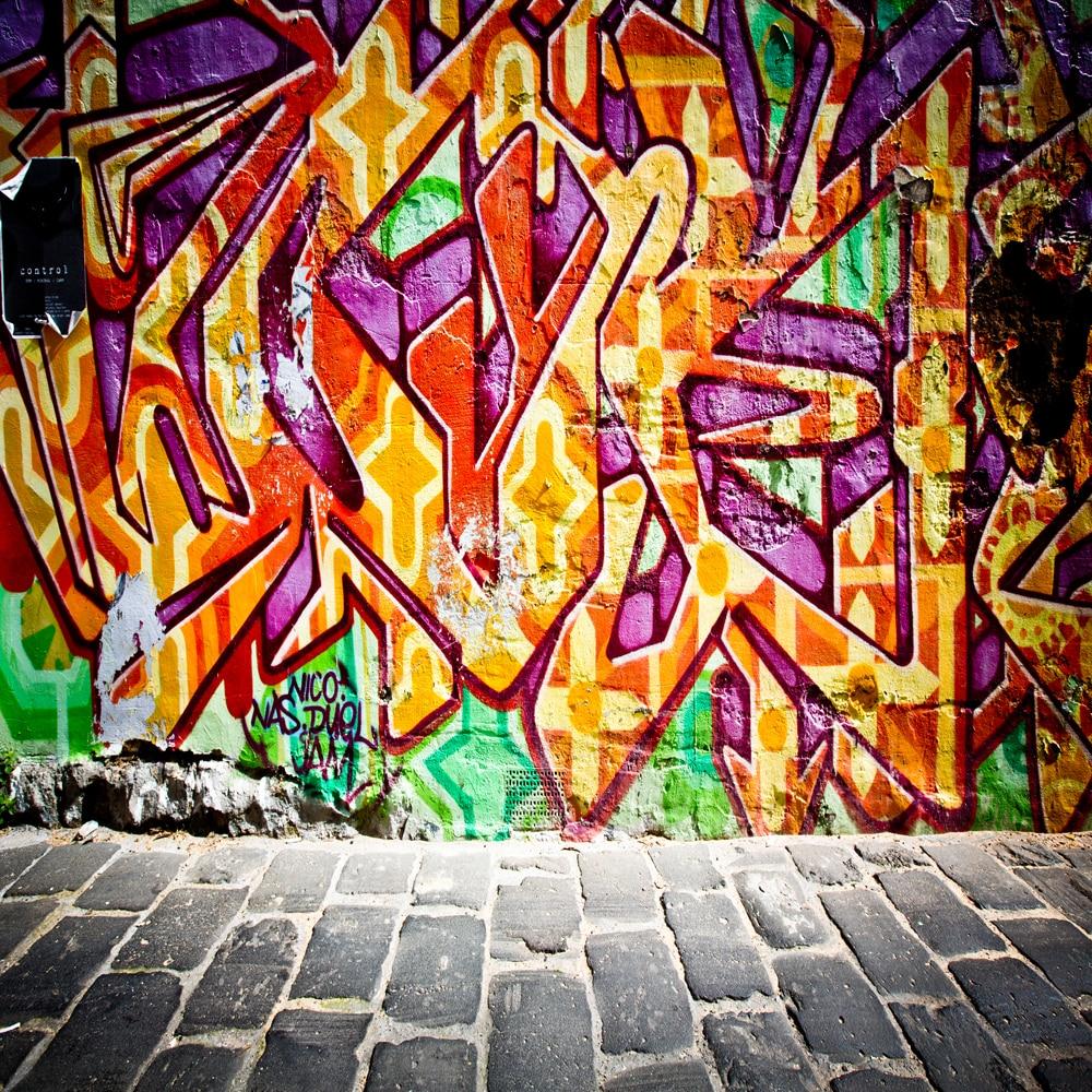Graffiti Art Wallpapers Group 71: HUAYI Graffiti Backdrop Baby Photo Props Backgrounds