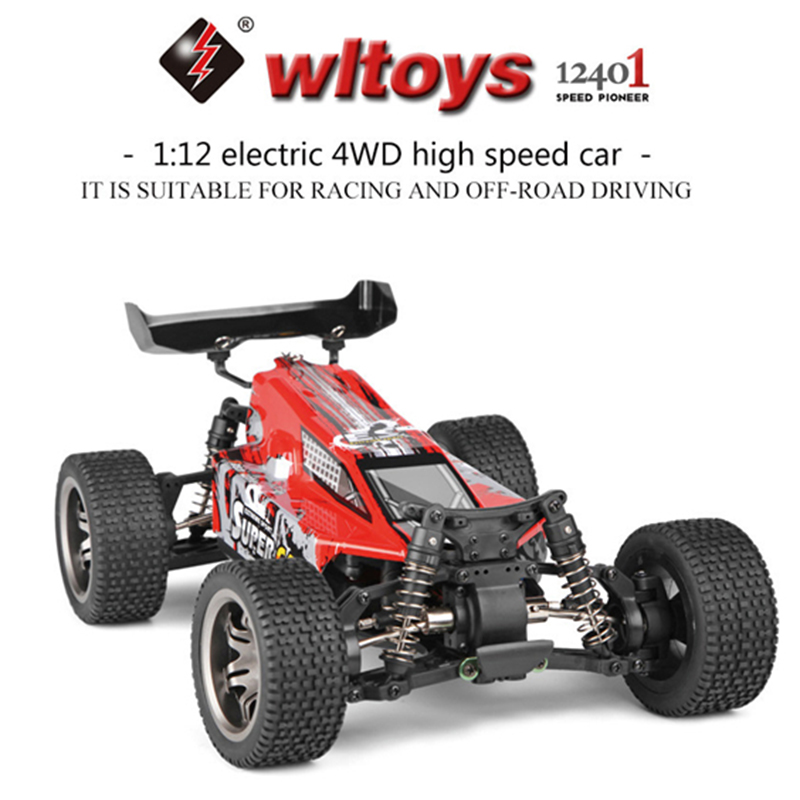 Wltoys 12401 RC Car 1:12 Large Scale 2.4G 4WD Remote Control Car Radio Control Off-Road Crawler RC Drift Car F1 Racing Car free shipping 1 10 scale rc drift car wheel hub ce28n metal wheel hubs offset 6 upgrade spare part for 1 10 rc drift car