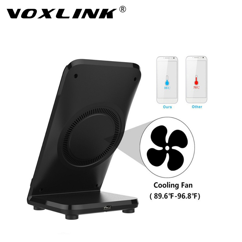 Voxlink Wireless Charging Stand Holder Pad Wireless Fast