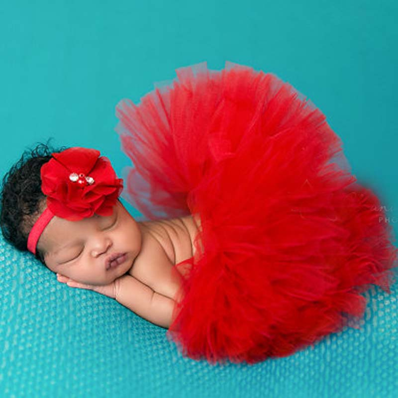 Cranberry Wine Tutu Skirt Newborn And Headband Baby Photography Prop Full Fluffy Tutus 16 Designs TS032 In Skirts From Mother Kids On