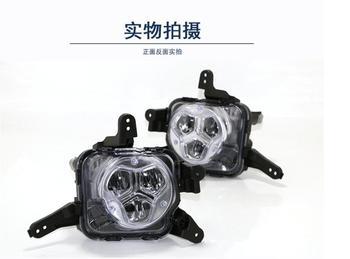 1set car bumper headlight for KIA K5 daytime light 2016~2018/2019~2020year car accessories LED DRL Headlamp for kia k5 fog light фото
