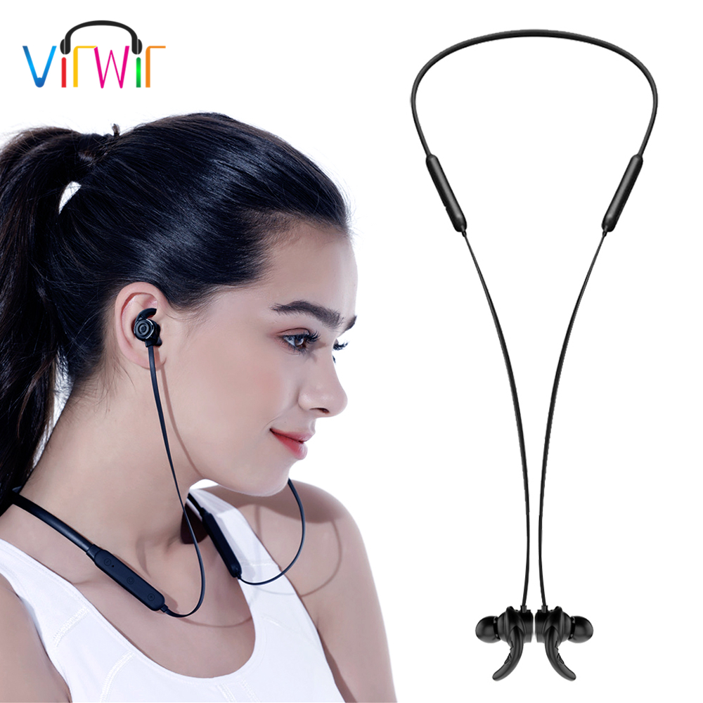 Virwir X13 Bluetooth Sports Earphones Wireless ear phones earbud sweat proof magnetic earphone neckband bluetooth headphone