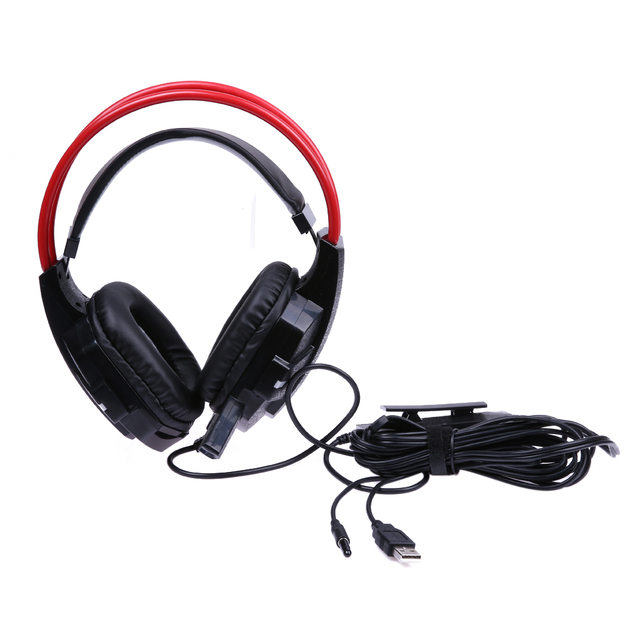 Professional Wired Gamer Headphone Subwoofer Computer Earphone ...