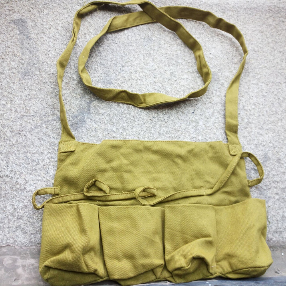 Japan Army WWII WW2 Grenade Bags Japanese World War Ii Military Gear Wholesale CN/10401
