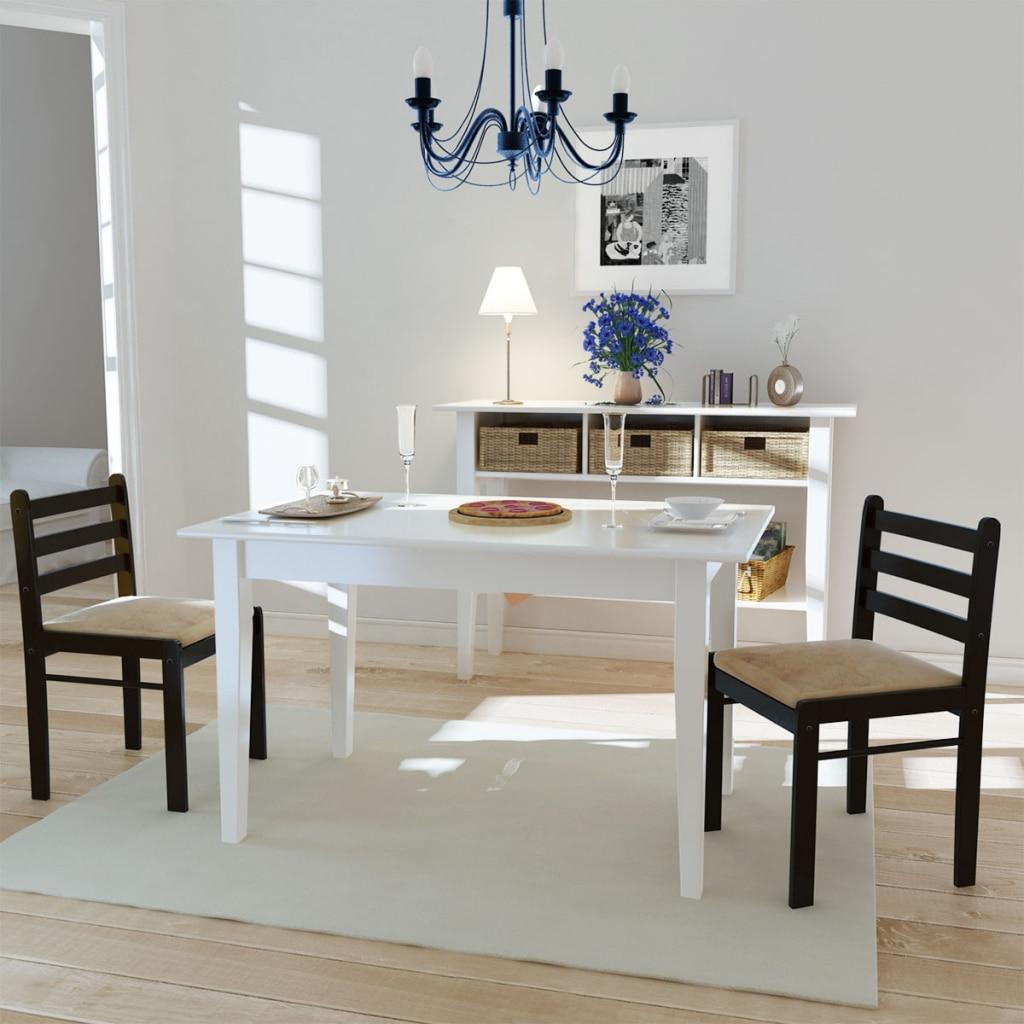 ikayaa unids modernas sillas de comedor de madera maciza silla de comedor de diseo sencillo