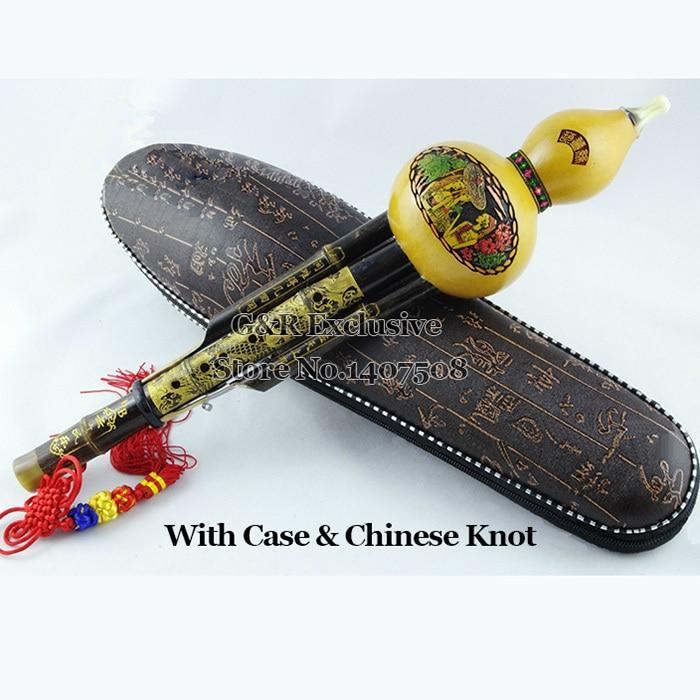 Chinese Bamboe Cucurbit Fluit Traditionele Kalebas Flauta Hout Wind - Muziekinstrumenten - Foto 4
