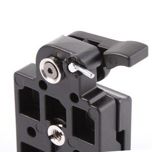 Image 2 - Placa de liberación rápida y adaptador de abrazadera para tripode Manfrotto monopod 200PL 14, cámara 323 RC2