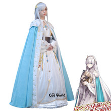 Anime Cosplay Tee-Dress Anastasia Costumes Outfit Uniform Grand-Order FGO Fate Archduchess