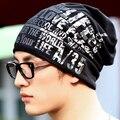 Горячая распродажа мужская мода письмо хип-хоп багги шапочка Cap хлопок смесь спорт Hat женщин розница/опт 4VRM