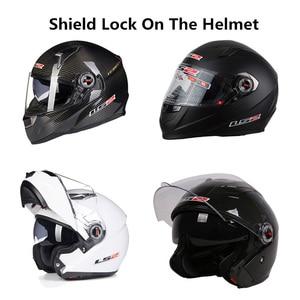 LS2 FF370 FF358 мотоциклетный шлем винты для щитка также подходят FF396 FF394 FF392 OF569 мото козырек замок объектива для шлемов LS2
