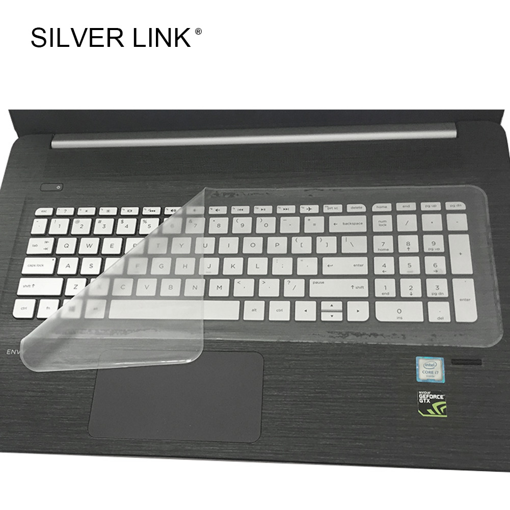 SILVER LINK Silicone Keyboard Cover Universal Laptop Accessories keyboard Protector Film S/L...