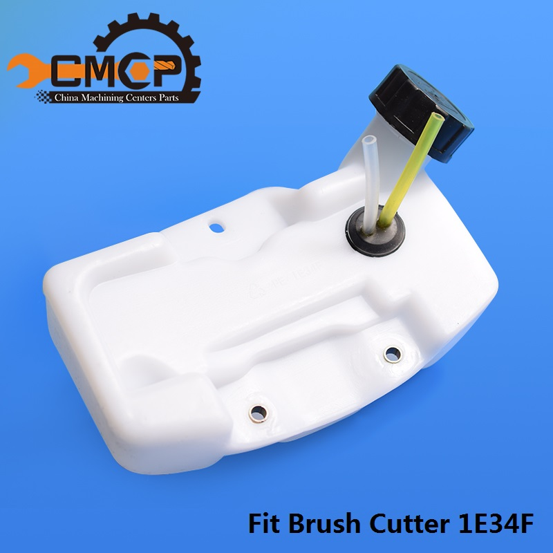 1pc Fuel Tank Assy For Brush Cutter 1E34F Lawn Mower Oil Tank Grass Trimmer Parts