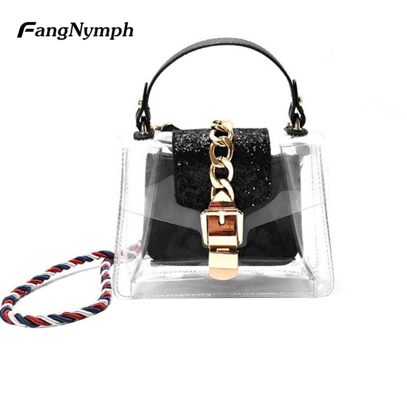 Buy clear crossbody purses and get free shipping on AliExpress.com 9bd1cc53740c9