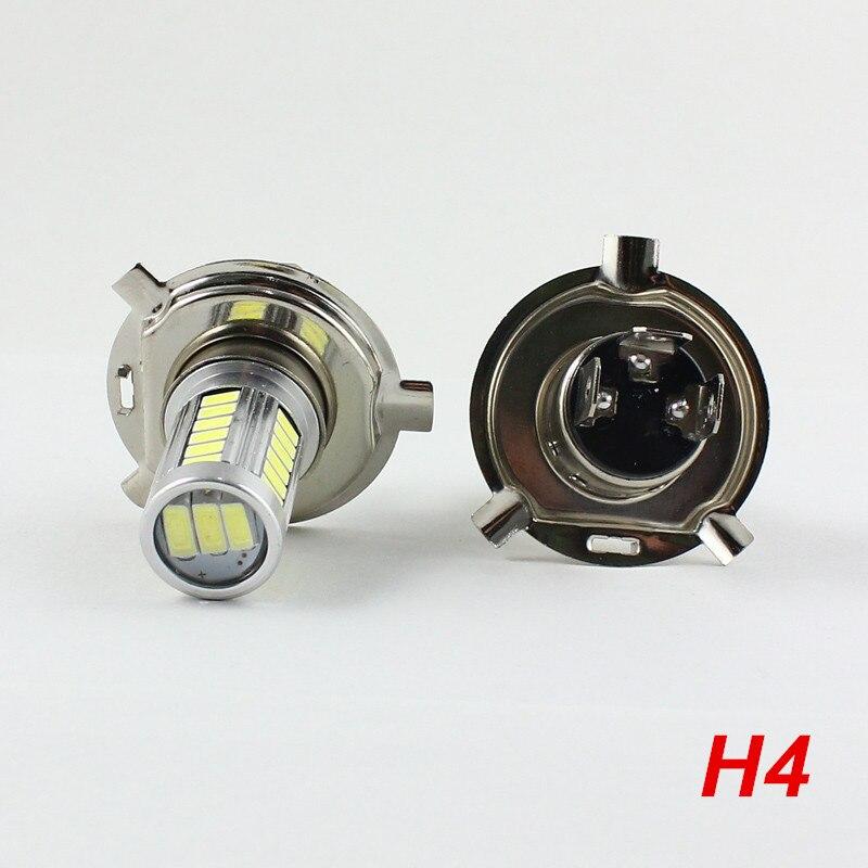 2Pcs 12V 8W H7 H4 7440 7443 Led Headlight Bulbs 6000K SMD5630 White W21W W21/5W LED Fog Light Bulb Day Running Light H7 Led Bulb