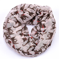 cat pint infinity scarf collar women shawls and scarves bandana yarn hijab ring loop bandanas foulard femme cape sjaal kerchief