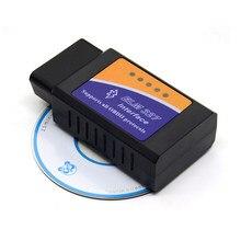 Obd2 v2.1 bluetooth mini elm327 elm 327, obdii interface de diagnóstico automotivo, scanner automotivo para android e software de torque