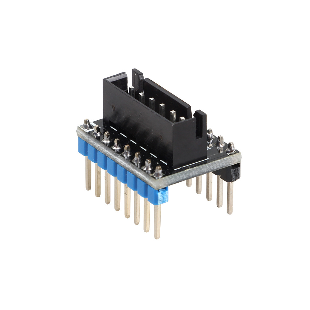 lowest price 3DSWAY 3D Printer Part 4pcs lot External High Power Switching Module for Microstep Driver Lerdge 3D Printer Board Adapter Module