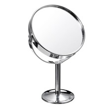 1Pcs Mirror Makeup Cosmetic Dual Side Mini Lady Girl Women Lady Beauty Normal Magnifying Stand Tools