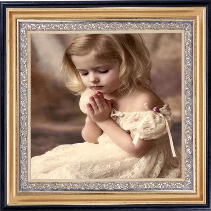Вышивка молитва девочка