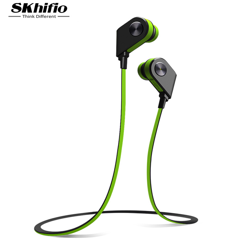 SKhifio V8 Bluetooth Headphone Wireless Earphones Headset Sports with Mic for Mobile Phone iPhone Samsung Xiaomi fone de ouvido wireless bluetooth headset v4 0 sports earphone gym headphone with mic earbuds universal for apple 7 plus xiaomi mobile phone
