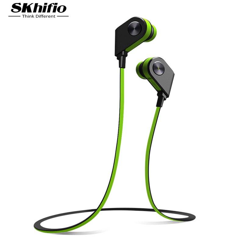 SKhifio V8 Bluetooth Headphone Wireless Earphones Headset Sports with Mic for Mobile Phone iPhone Samsung Xiaomi fone de ouvido