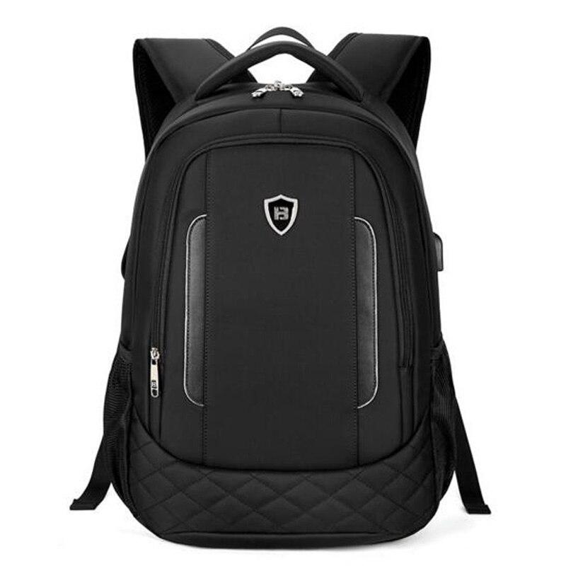 100% QualitäT Männer Rucksäcke Business Computer Rucksack Große Kapazität Student Tasche Reisetasche Wasserdichte Schulranzen Mochila