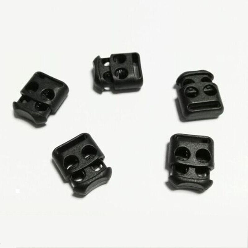 10pcs Outdoor Rope Adjustment Buckle Lace Slip Type Fast Easy Shoelace Clasp