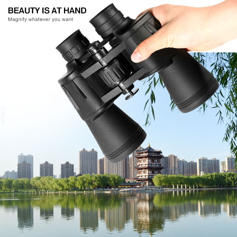 LED Hunting Scanning Binoculars Range Finder Night Vision Non-infrared Telescope Outdoor Wide Angle Vision High Definition recommend folding binoculars 10x magnifications binoculars telescope non infrared night vision telescope macrobinocular 10x32