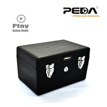 2016 Top Case Rear Box Motorcycle Scooter Electric Bike Black PP Luggage Trunk Tool Box (Free Shipping)