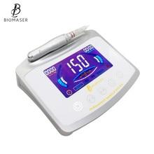 Biomaser X1, Перманентный макияж, набор, светодиодный, интеллектуальный, цифровой, с ЧПУ, алюминиевый светодиодный дисплей, тату-машина, игольчатая ручка