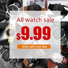 CIVO каждый день Большая распродажа, все часы распродажа 9,99 $ мужские s часы лучший бренд Роскошные часы для мужчин кварцевые часы