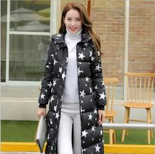 free shipping 2016 women's coat winter women parkas long cotton-padded jacket female plus size women down cotton coat L-3XL