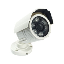 2015 Newest Cheapest Freeshipping 6 Array Leds  Cctv Camera  CMOS 700TVL Plastic Bullet HD Mini Monitoring Security Camera