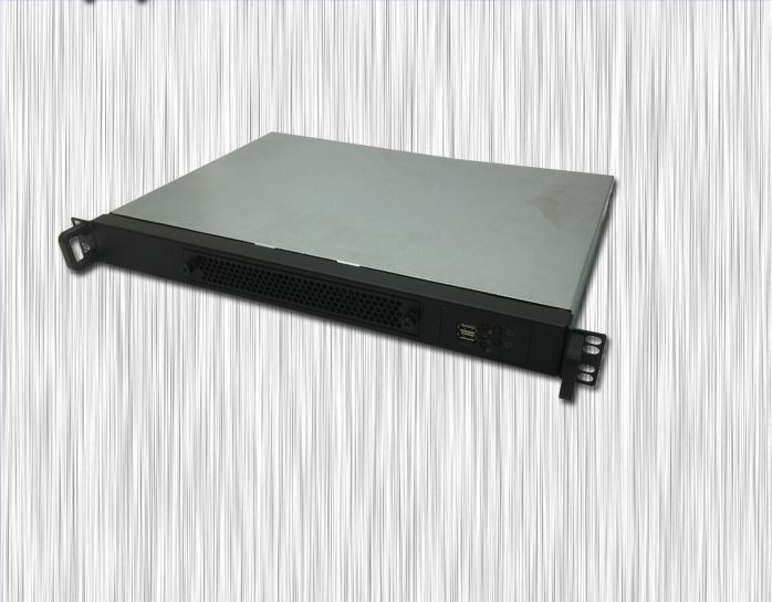 все цены на Industrial control Computer case 1U steel panel 300mm deep box server chassis онлайн