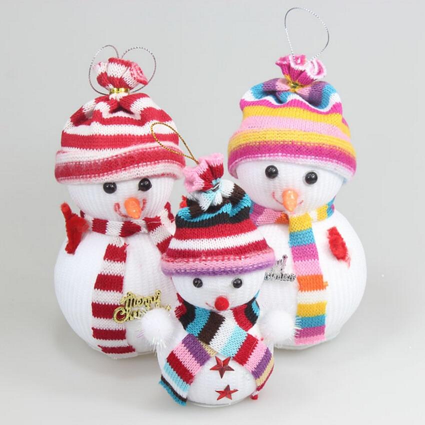 Sale On Christmas Tree Decorations: Hot Sale 12 Pcs/lot Christmas Tree Ornaments,Mini Snowman