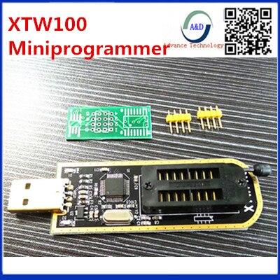 1pcs best quality XTW100 mini programmer USB Motherboard Multifunctional BIOS SPI FLASH 24 25 Read write