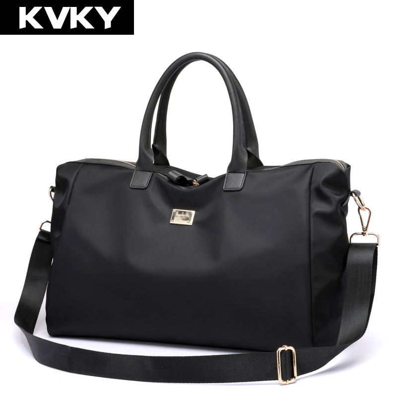 KVKY Brand Women Nylon Handbags Waterproof Shoulder Bag Travel Totes Designer Crossbody Bag Large Capacity Female Messenger Bags fido dido designer handbags high quality nylon women shoulder bags large capacity women messenger crossbody bags