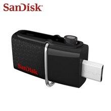 Sandisk OTG Flash Drive 16GB Dual Drive Micro Usb 64GB USB 3.0 DD2 U Disk 128GB Pendrive 32GB Memory Stick Free Shipping